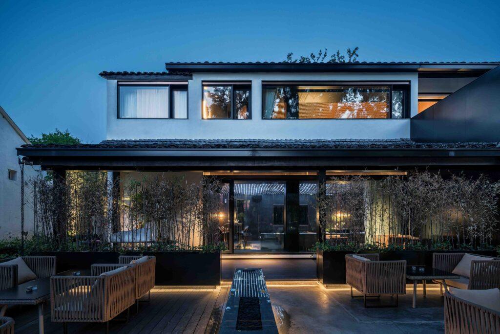 Ejemplo de estilo industrial de vivienda modular Cortabitarte.